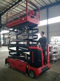 elektrische 6-11m Scissor Aufzug mit Pedal-Patent-Entwurf Withce Bescheinigung