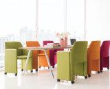 Стул отдыха ткани самомоднейшего салона мебели Бледн-Серый с поручнями (HX-5CH080)