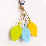 Цветастый творческий затвор двери силикона безопасности руки младенца формы листьев с веревочкой Hang