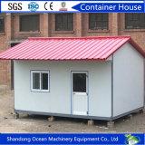 Casa de lujo prefabricada del envase de la alta calidad de la venta caliente de la estructura de acero