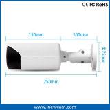 macchina fotografica del IP di rilevazione di movimento di 4MP Varifocal Poe IR con audio