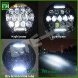 ジープのラングラーオフロード部品のための7インチの置換LEDのヘッドライト