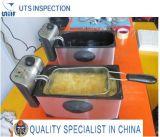 Control de calidad freidora Servicio de Inspección y de China