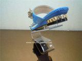 Carrinho de indicador acrílico luxuoso Btr-G1030 da loja de sapata