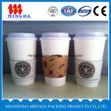 Taza de papel disponible, taza de consumición caliente