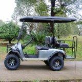 カスタマイズされた4つのシート電気ハンチングゴルフカート