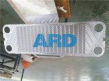 Acero inoxidable sanitario del alimento de la placa J185 J107 N35 del cambiador de calor de la placa de Apv