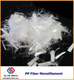 Fibra della fibra pp 6mm del monofilamento del polipropilene micro
