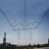 330kv Toren van het Rooster van het Staal van de Hoek van de Transmissie van de macht de Metaal