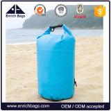 lo zaino impermeabile leggero del sacchetto asciutto 5L/10L/20L/30L che fa galleggiare l'attrezzo asciutto insacca gli zainhi con la cinghia di spalla