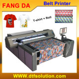 Pigment Digital Textile Printer para algodão T-Shirt Fabric Roll Printing