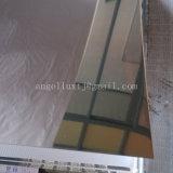 Ss430 eindigt het Roestvrij staal voor de Spiegel van het Blad van Decoratie/Geborsteld