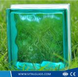 Blocchetto di vetro indurito del reticolo della radura di sicurezza per la decorazione (GB)