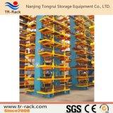Estantería Cantilever ajustable para el almacenamiento de productos largos