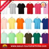 Forme physique étendue bon marché de T-shirt d'hommes de T-shirt de plaine de vente en gros de T-shirt