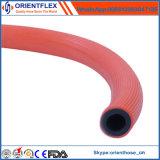 Tubo de gás de reforço de fibra de tampa de PVC de qualidade superior