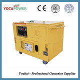 jeu refroidi à l'air de groupe électrogène du générateur 10kw diesel silencieux