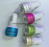 5V 2.1A 5 색깔 다중 이동 전화 USB 차 충전기