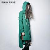 Py-216 Punk New Autumn Vampire Dark Skinny Simple Hoded Coat