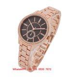 Het prachtige Modieuze Horloge van het Kwarts met de Riem van het Roestvrij staal voor Vrouwen Fs551