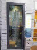 Bisagra de aluminio Vidrio / Puerta giratoria doble con múltiples puntos de bloqueo -Kpm49
