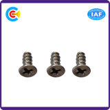 Acier au carbone 4.8 / 8.8 / 10.9 Attaches Phillips / Cross Countersunk Head Self-Tapping Screws Furniture / Appliances