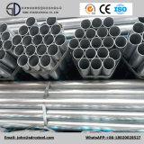 Construção do fabricante e tubulação de aço galvanizada soldado pre usada estrutura