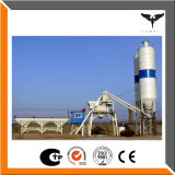 com a planta de tratamento por lotes concreta do silo do cimento