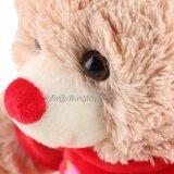 Подарок игрушки плюша плюшевого медвежонка оптовой продажи дня Valentine lhbim