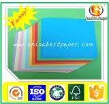 110gsm Conseil du papier de couleur Non couché