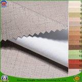 Tissu de rideau en polyester tissé par arrêt total imperméable à l'eau à la maison de franc de textile pour le guichet d'hôtel