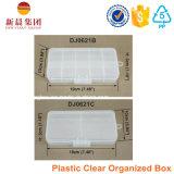 Caixa de armazenamento plástica de 10 compartimentos