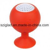Mini altofalante impermeável portátil sem fio do móbil de Bluetooth da sução da forma do copo