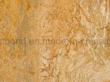 Travertineの石は壁のクラッディングのための蜜蜂の巣のパネルに直面した