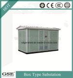 Tipo de caixa exterior europeu transformador da subestação de distribuição