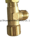 Válvula de bola de filtro termostático de latón