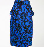 Hot Sale Party Clothing Bodycon Lepard Sexy Femme Crayon Jupes