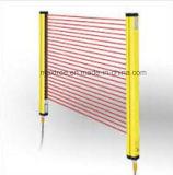 Cortina de luz de segurança altamente sensível e confiável, cerca óptica de área perigosa