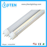 LED 관 빛 T8 의 20W T8 LED 관 전등 설비는 PC 덮개를 지운다