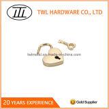 Sac à main en métal en forme de coeur de clé de verrouillage pour les sacs à main