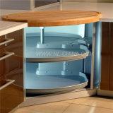 Cabina de cocina de la melamina del color del café de Hangzhou