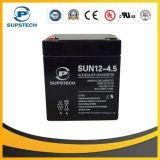 Batería de almacenamiento ácida de plomo de la lámpara de calle solar (12V 4.5ah)