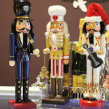 New Design Hand Crafts Christmas Resin Casse-noisettes Statues du roi