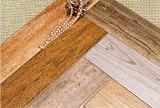 Baldosa de madera decorativa en stock (15601)