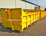 10m3 e 18m3, caminhão de lixo do braço do gancho de elevação do gancho de caminhão de lixo