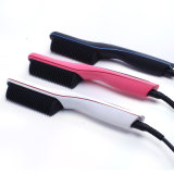 Peine el cabello el cabello plancha eléctrica con pantalla LCD