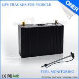 Inseguitore di GPS del veicolo con il rapporto in tempo reale della foto