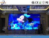 Visualización publicitaria móvil al aire libre del carro del LED