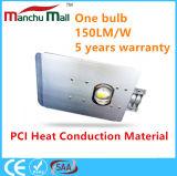 diodo emissor de luz da ESPIGA 90W-150W com iluminação de rua material da condução de calor do PCI