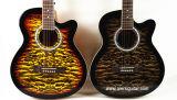 중국 Aiersi 40 인치 색깔 잔물결에 의하여 인쇄되는 최고 음향 기타